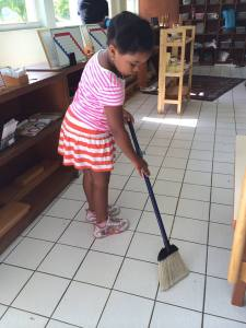cleaningup