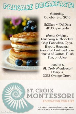 Pancake+Breakfast+Poster
